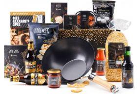 Een kerstpakket kopen voor alle restaurant medewerkers