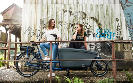 Kies voor een elektrische bakfiets met een sterk staaltje Dutch Design
