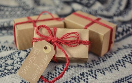 Een kerstpakket, altijd een interessante keuze!
